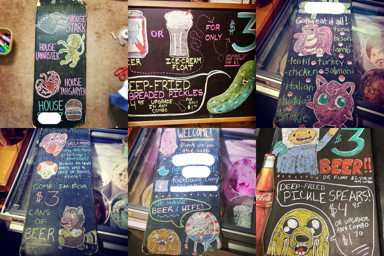 chalk-board-art-alanna-edwards-mario-adventuretime-pokemon